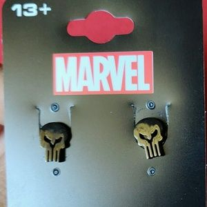 Punisher earrings